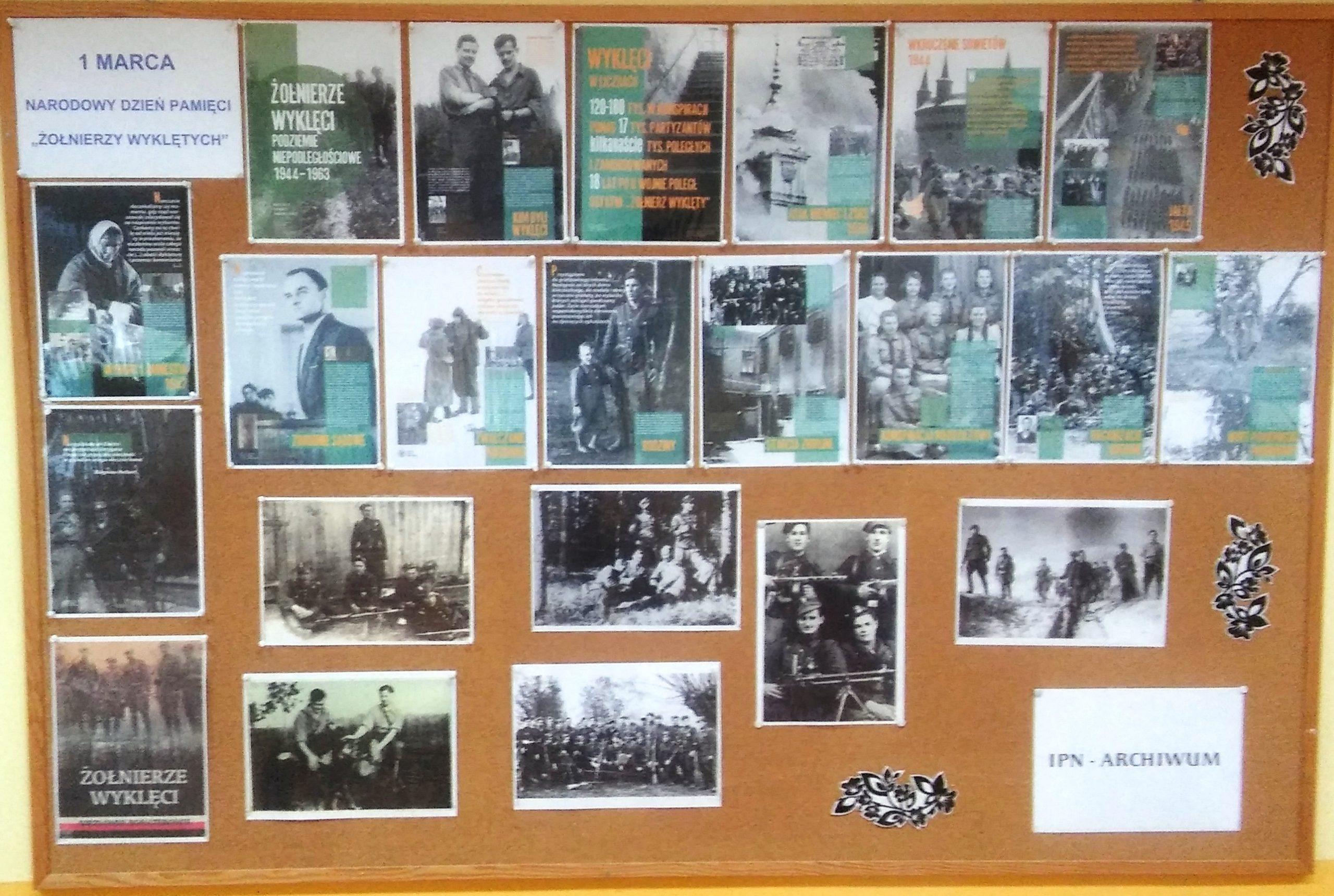 """1 marca Narodowy Dzień Pamięci """"Żołnierzy Wyklętych""""#SzkołaPamięta"""